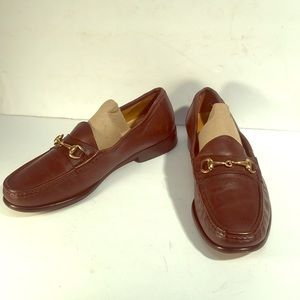 """COLE HAAN """"GUCCI STYLE"""" LEATHER LOAFERS,"""